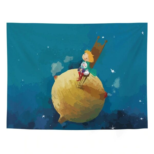 Little Prince Wall Tapestry