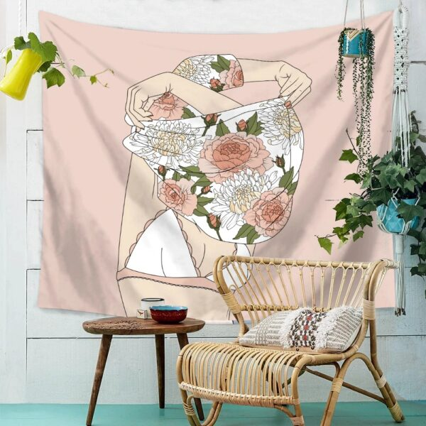Personality Wall Tapestry Women