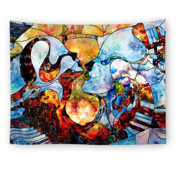 Picasso Psychedelische Tapestry