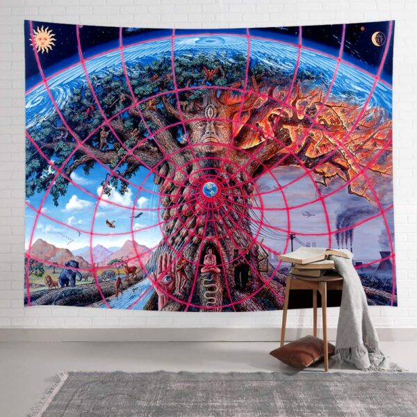 Life Trees Tapestry Wall Hanging# 4