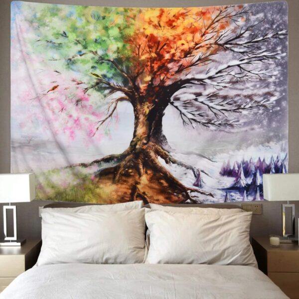 Life Trees Tapestry Wall Hanging# 5