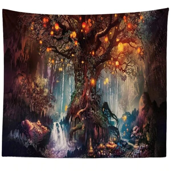 Life Trees Tapestry Wall Hanging# 2