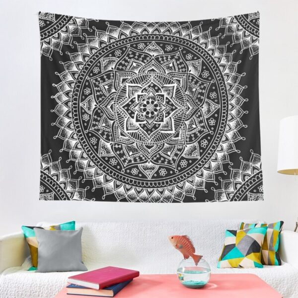 ohemian Tapestries Decoration Mandala Indian Tapestry