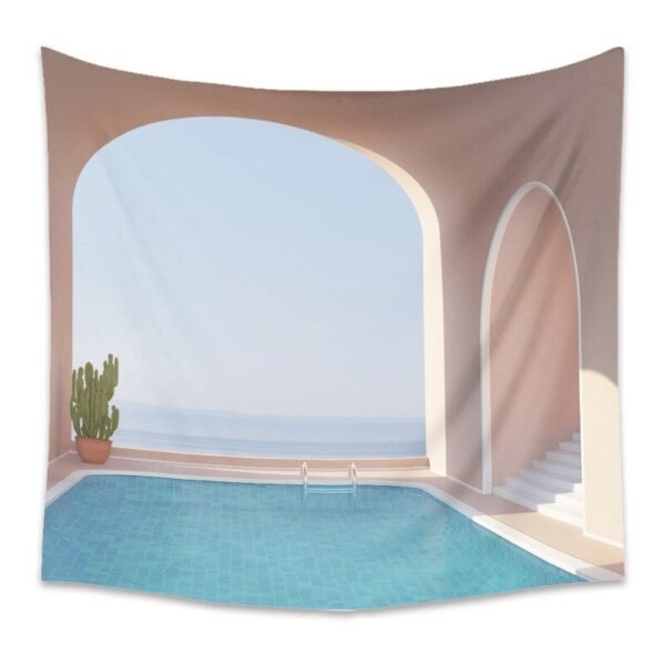 Art Painting Modern Home Decor Islamic Architecture Tapestry
