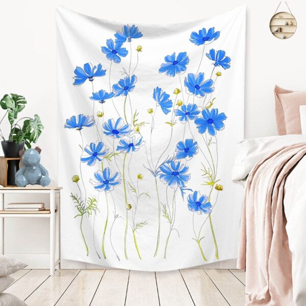 Art Home Decoration Accessories Psychedelic flower Tapestry#9