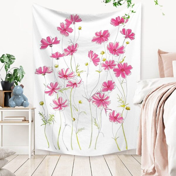 Art Home Decoration Accessories Psychedelic flower Tapestry#8