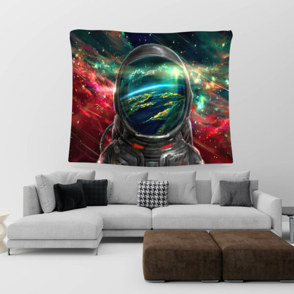 Astronaut Tapestry, Astronaut in space# 7