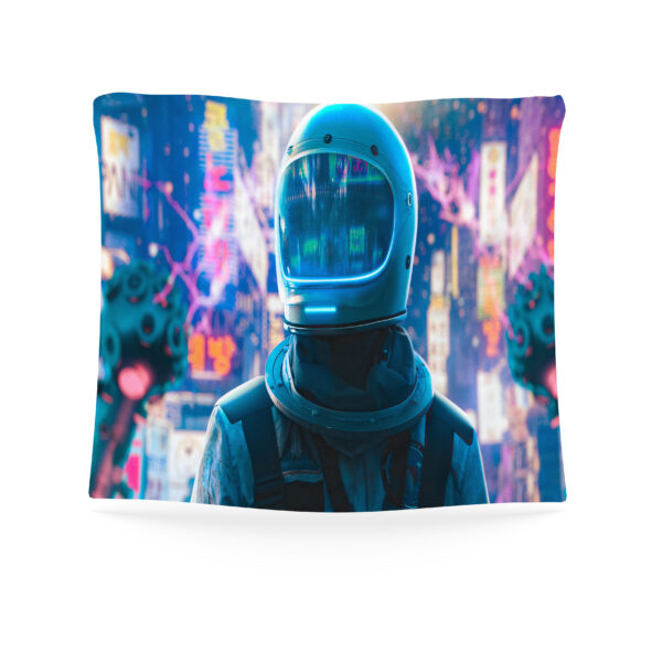 Astronaut Tapestry, Astronaut in space# 3