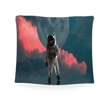 Astronaut Tapestry, Astronaut In Space