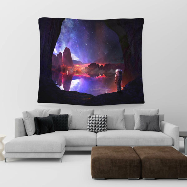 Astronaut Tapestry, Astronaut in space# 5