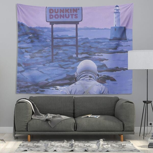 Cute Tapestry Wall Hanging Wall Decor Tapestry Cool Astronaut